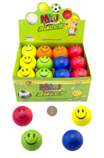 SMILEY STRESS BALL 60mm