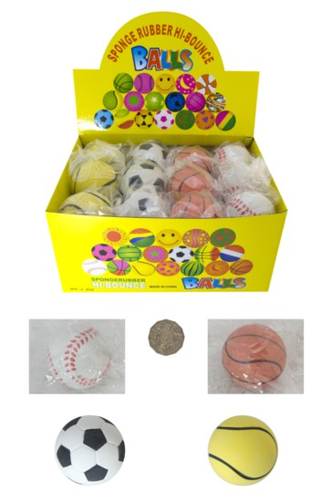 RUBBER SPONGE BALL 63mm