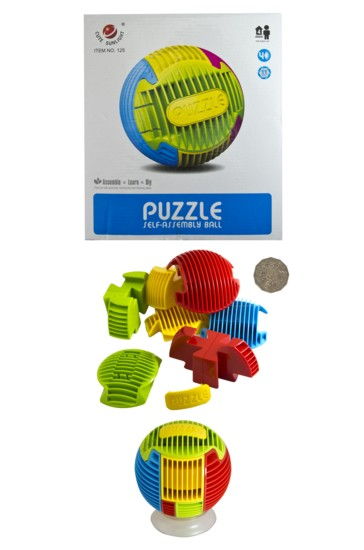 PUZZLE SELF ASSEMBLY BALL
